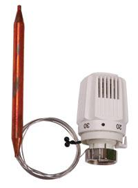 термостатическая головка с накладным датчиком
