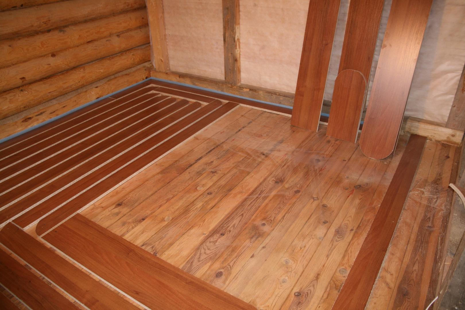 Пол первого этажа при ленточном фундаменте